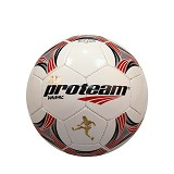 PROTEAM Bola Soccer Size 5 [Dynamic] - Red/Grey